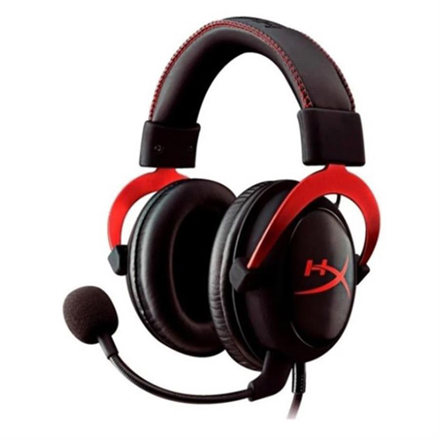 Auriculares Gamer Cloud Il Red Usb - 3.5mm
