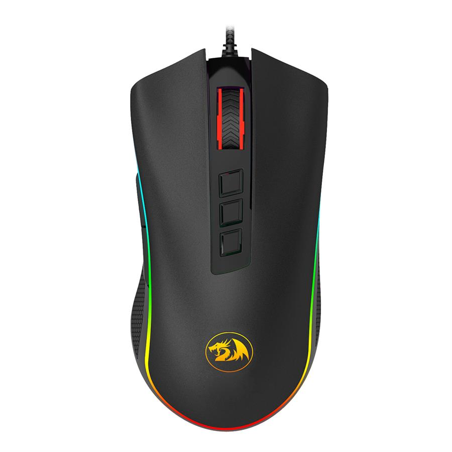 Mouse Gamer M711 Cobra Negro 10000 Dpi