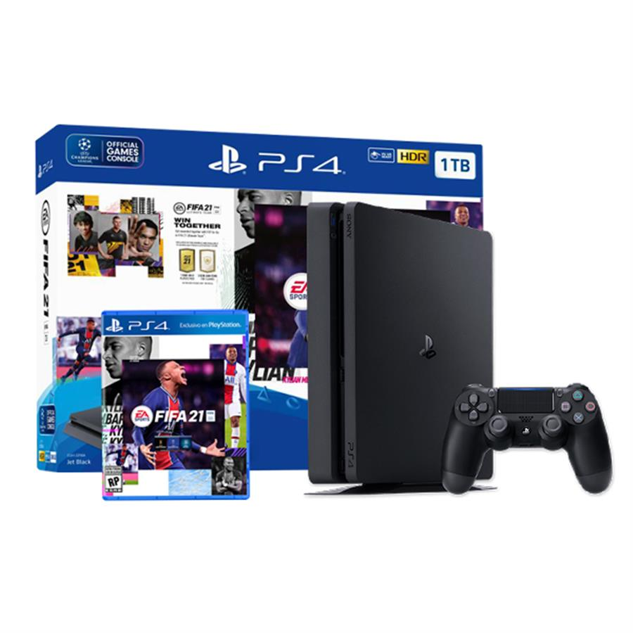 Consola Playstation 4 Slim 1Tb Fifa 21 Bundle