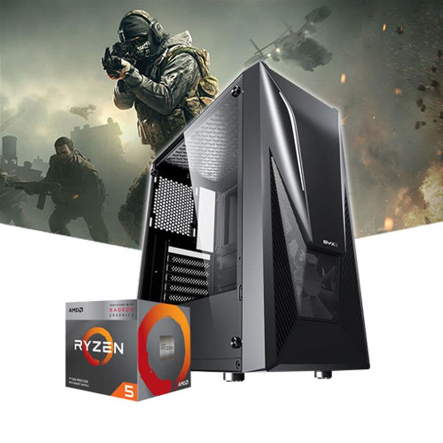 PC Gamer AMD Ryzen 5 3400G SSD 240GB Ram 16GB c/Gabinete Gamer