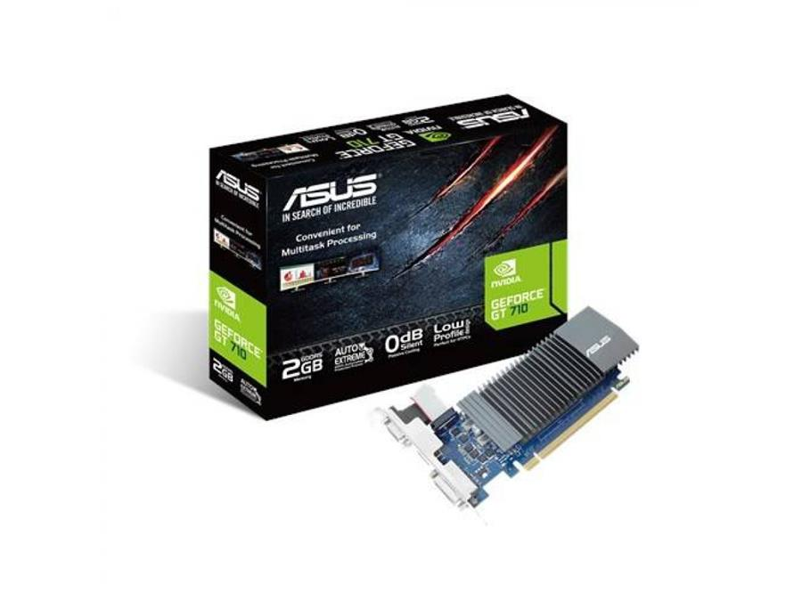 Placa Geforce Gt 710-Sl-2Gd5 Ddr5 2Gb Csm Dvi Hdmi