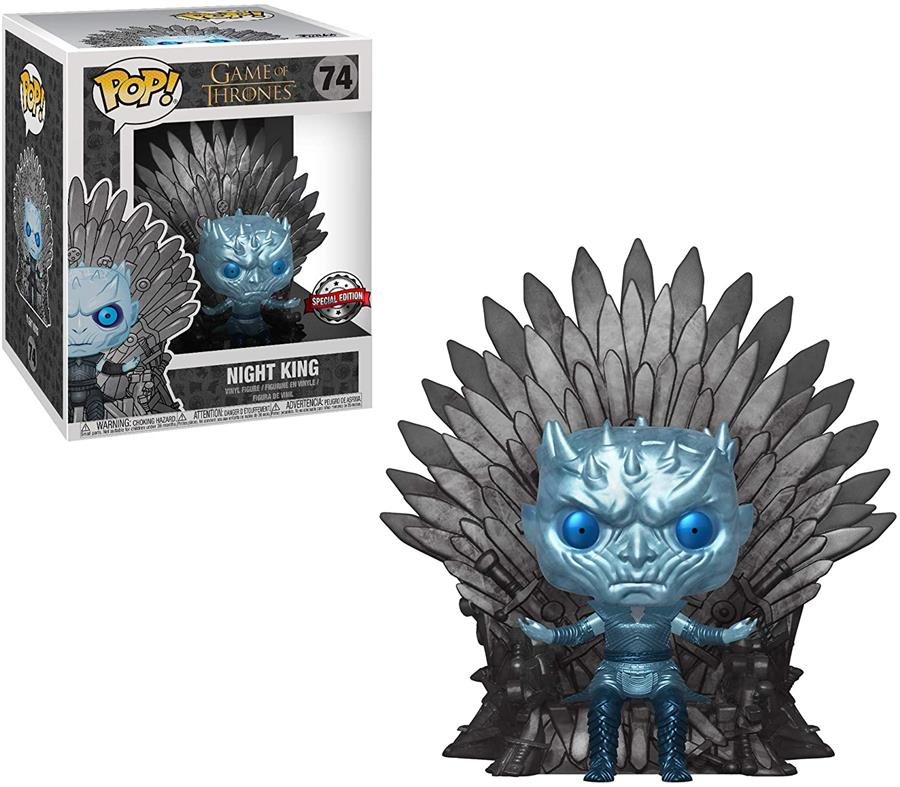 Game Of Thrones: Knight King (Metallic) With Throne #74