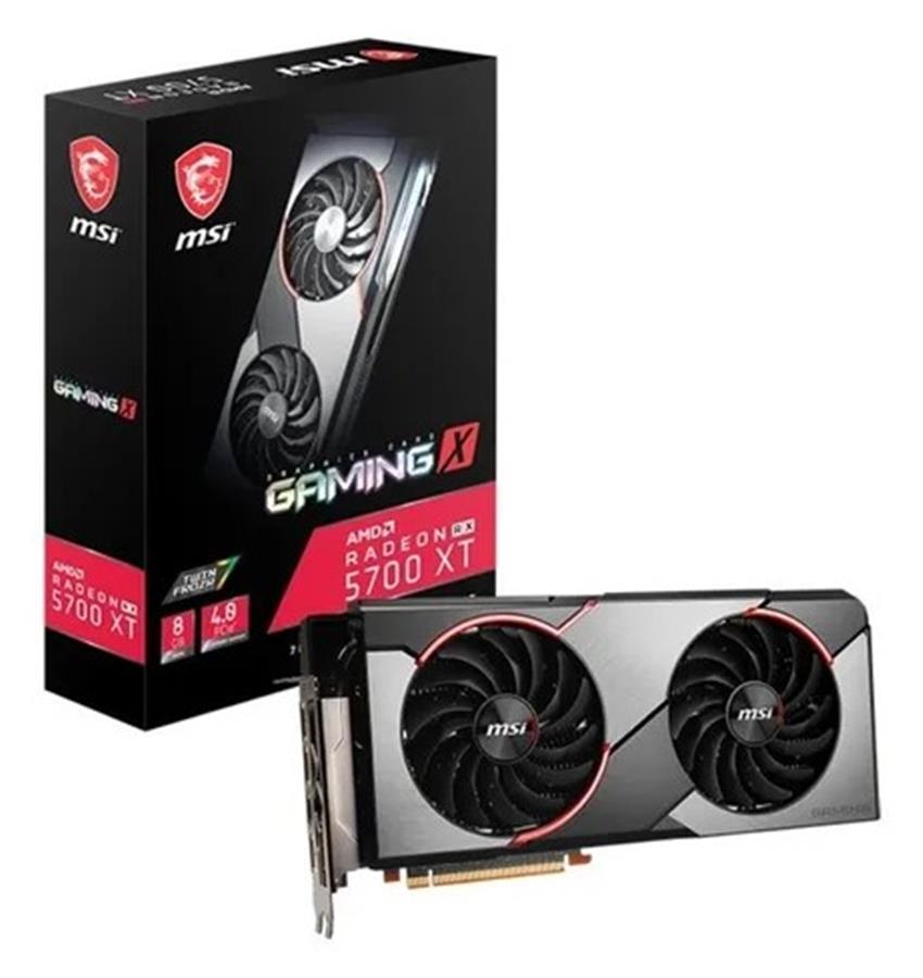 Placa De Video Gaming X Amd Radeon Rx 5700 Xt 8gb Ddr6