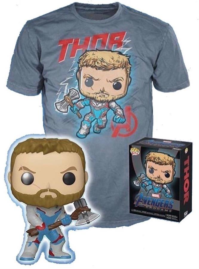 Marvel - Avengers Endgame: Thor #452 (Glow In The Dark) + Remera Talle L