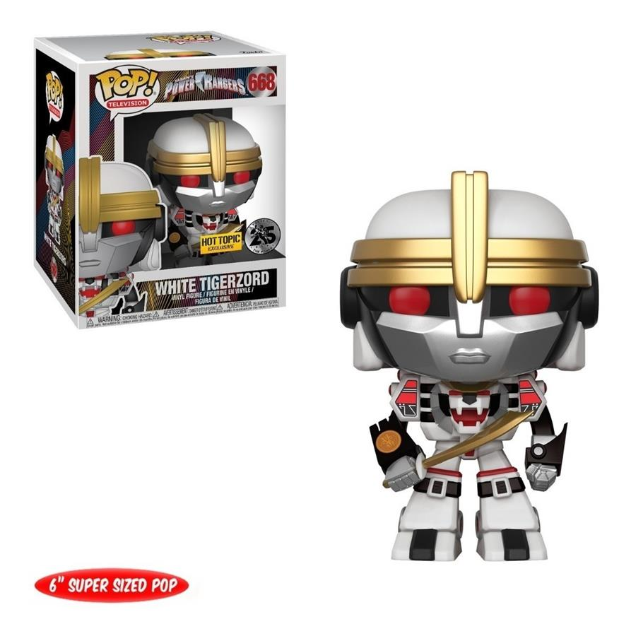 Power Rangers: White Tigerzord #668 (Hot Topic Exclusive)