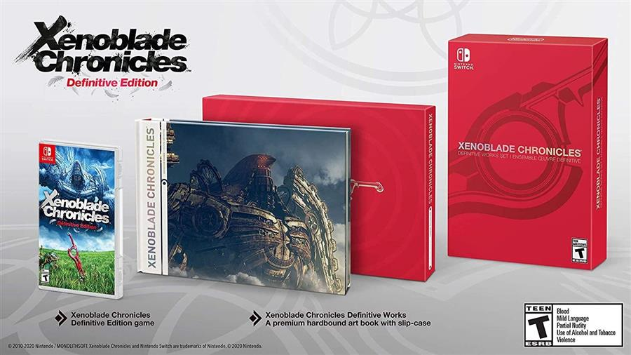 Xenoblade Chronicles Definitive Edition (Work Set)